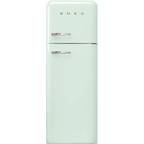 Smeg FAB30RPG3 réfrigérateur-congélateur Autonome Vert 294 L A+++ - Réfrigérateurs-congélateurs (294 L, SN-T, 4 kg/24h, A+++, Nouvelle zone compartiment, Vert)