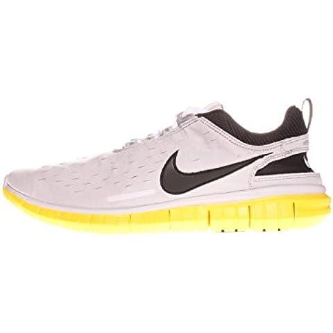 Nike Free OG ´14 Laufschuhe Aktuelles Modell 2014 ! grau/gelb