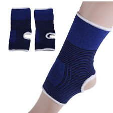 KECKTUS 2pc Ankle Support Braces Foot Heel Protector Sports Guard Strain Pain Relief  available at amazon for Rs.199