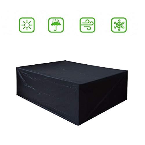 Dellcciu custodia protettiva custodia protettiva copri copertura per mobili da giardino e rivestimento per sedili rettangolari (200 * 160 * 70)