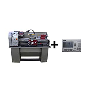 PAULIMOT Drehbank/Drehmaschine PM4000 mit 400 Volt Motor / 1,5 kW und Messsystem