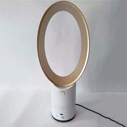 Bladeless Lüfter Klimaanlage Luftkühler,portable Oszillierender Turmventilator Mit Fernbedienung,luftkühler Ventilator,negativ-ionen Luftreiniger Luftbefeuchter Home-golden 25x25x60cm(10x10x24inch)