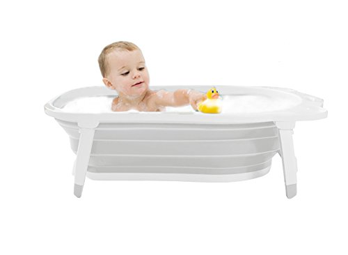 Karibu Baby Bath Tub Infant Folding Bath - Grey