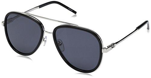 Marc Jacobs Herren MARC 136/S IR CSA 56 Sonnenbrille, Black Pallad/Grey Blue,