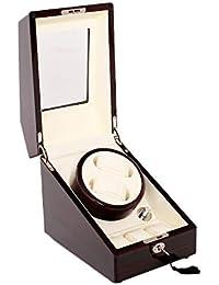 HKHJ Cajas Giratorias para Relojes Automáticos Estuche Bobinadora para Relojes Motor Silencioso Almacenamiento para Relojes Cargador