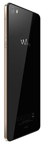 Wiko Highway Pure - Smartphone libre de 4 8   2 GB de RAM  c  mara de 8 MP  16 GB de memoria interna   color negro y oro