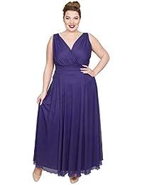9e534d1e32060 Scarlett   Jo Nancy Marilyn Chiffon Maxi Dress Sizes 10-32