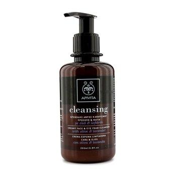 Apivita Creamy Face & Eye Foam Cleanser 200ml/6.8oz - Hautpflege