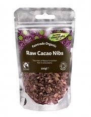 The Raw Chocolate Company Org Cacao Nibs 100g by The Raw Chocolate Company