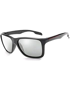 Long Keeper Gafas de sol Fotocromáticas Hombres Mujeres HD Polarizado Deportes Ciclismo Gafas