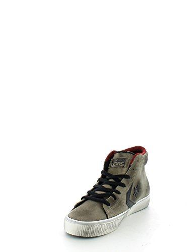Converse Pro Leather Mid mixte adulte, suède, sneaker high Beige