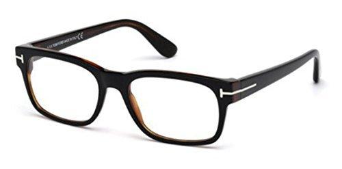 Tom Ford - FT 5432, Rechteckig, injektiert, Herrenbrillen, HAVANA(005), 52/18/145