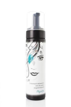 schiuma acidificante per capelli - chiude le squame dei capelli - fissativo del colore 200ml