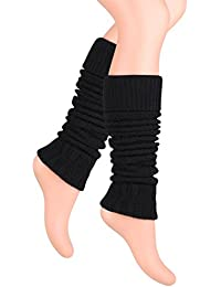 Ateena Calentadores piernas mujer, diferentes colores, ideal para regalo, calientapiernas
