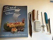 Twin-curl-cutter (Chef Jerry Crowley garnieren Kit und Buch)