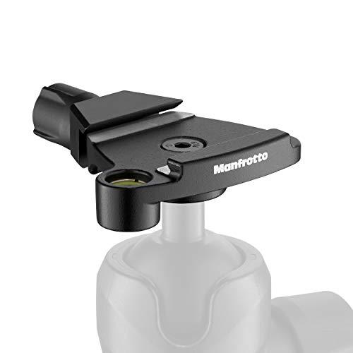 Manfrotto MSQ6T Traveler Top Lock Schnellwechseladapter - Arca-kompatible Plattenvorrichtung für Befree Stative, perfekt für Manfrotto 494 und 496 Kugelköpfe- kompakt und leicht - Aluminium -