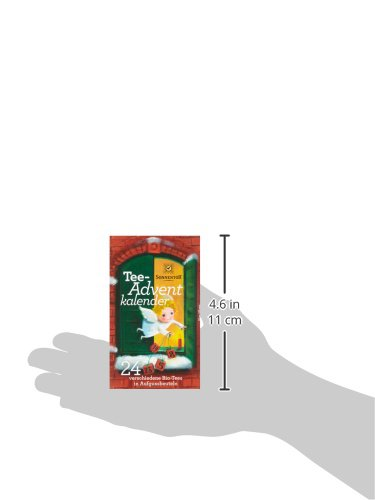 Sonnentor Tee-Adventkalender Edition 2015-2017 bio, Aufgussbeutel 24 Stck, 1er Pack (1 x 38 g) - 5