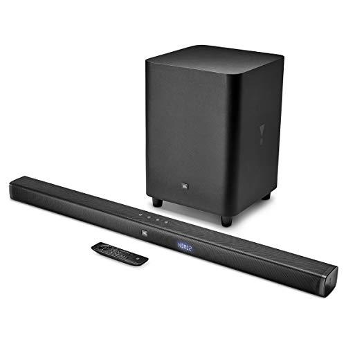JBL Bar 3.1 4K Soundbar with Wireless Subwoofer (450 Watts, 6 Woofers, Dolby Digital, Surround Sound)