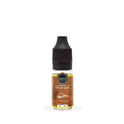 KNUQO E-liquid STELLAR Juice 10ml - Zimt-Geschmack   e-Zigarette   Wiederaufladbare Elektronische Zigarette Liquid   e Shisha   Nikotinfrei