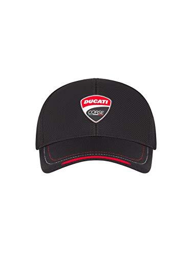 Ducati Corse Badge Patch Schwarze Mütze -