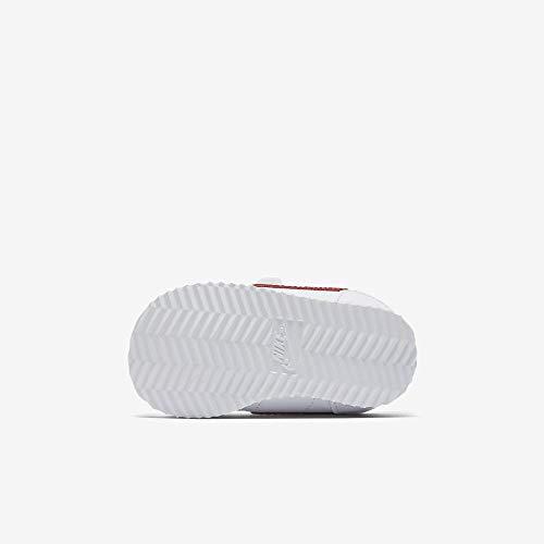 Nike Unisex Baby Cortez Basic SL (TDV) Hausschuhe, Weiß (White/Varsity Red-Varsity Royal-Black 103), 21 EU