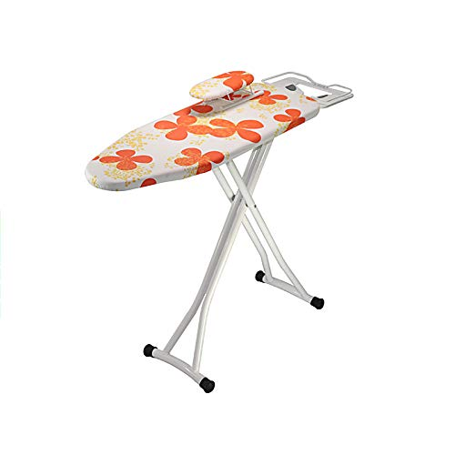 WUPO Folding Ironing Board Ironing Hang Hot Iron Plate Electric Iron Plate Large Ironing Board Ironing Board Rack,Metal, Multi-Colour -