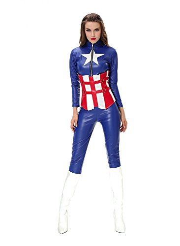 shoperama Sexy Superhero Costume American Hero