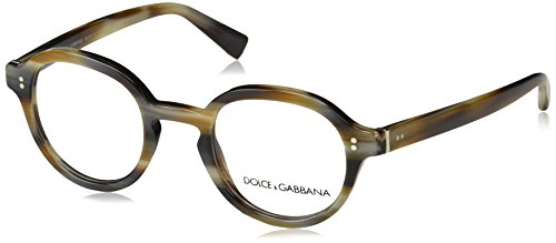 Dolce & Gabbana Brillen JAZZ DG 3271 STRIPED BROWN Herrenbrillen