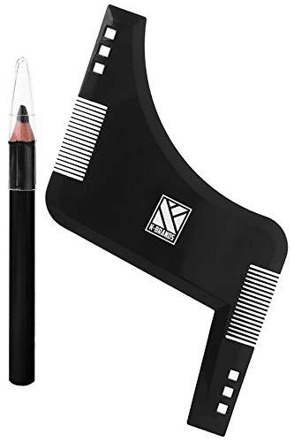 Peine Plantilla Premium Modelado Perfilado Barba K-Brands