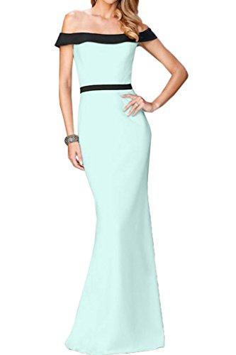 Ivydressing Damen Liebling U-Ausschnitt Etui-Linie Lang Partykleid Promkleid Festkleid Abendkleid Sage