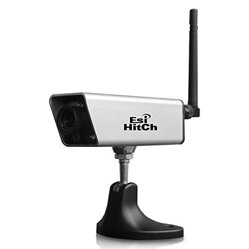 Rückfahrkamera für Handy Akku Rückfahrkamera WiFi Anhänger Kamera für Wohnwagen Hitching Rückfahrkamera mit magnetischer Basis Nachtsicht Wasserdicht Unterstützung Android IOS GoPro Stativ Mount EH04
