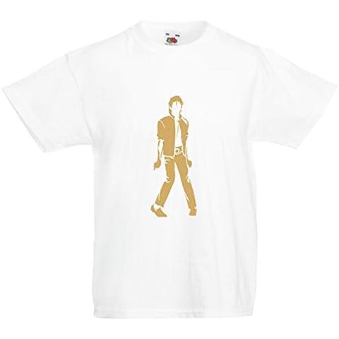 N4123K La camiseta de los niños I love M J