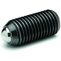 ganter Norma Elementos GN 615.3de M12de KS–federnde Impresión unidades con hexágono interior, 2unidades), color negro