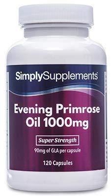 Aceite Onagra 1000mg - 120 cápsulas - Hasta 4 meses