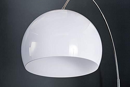 Design Bogenlampe mit Marmorfuß - 5