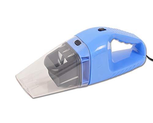 Aspirapolvere Multifunzione Portatile,Aspirapolvere Per Auto 4000Pa DC 12V 120W Portatile,Con Filtro HEPA In,Cavo Di 5M,Ideale Per Casa E Auto,Blue