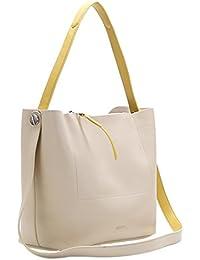 ABBACINO Chergui, Shopper y Bolso de Hombro para Mujer, 17.5x17x39 cm (W x H x L)