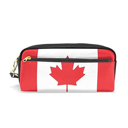 Federmäppchen mit Kanada-Flagge, Federmäppchen mit Reißverschluss, für Jungen und Mädchen