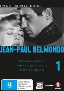 Jean-Paul Belmondo - Vol. 1 (French Screen Icons) - 3-DVD Set ( Moderato cantabile / Un nommé La Rocca / Week-end à Zuydcoote ) ( Seven Days [ Origine Australiano, Nessuna Lingua Italiana ]