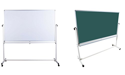 Mobile Tafel Kreidetafel 1 Seite Kreidetafel 1 Seite Whiteboardtafel 180cm x 100cm