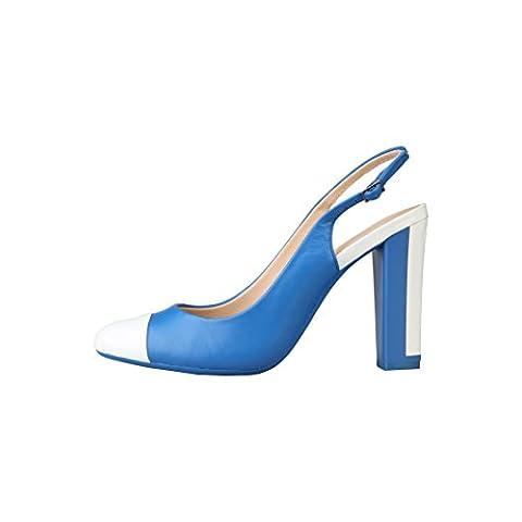 Sushi Costume Fille - sandales Calvin Klein Bleu chaussures - N11364WCO
