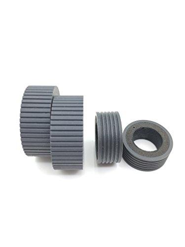 OKLILI PA03540-0001 PA03540-0002 Scheibenbremse Roller + Pick Roller Pickup Roller Tire für Fujitsu fi-6240z fi-6140z fi-6230z fi-6130z fi-6240 fi-6140 fi-6230 fi-6130 fi-6125 fi-6225