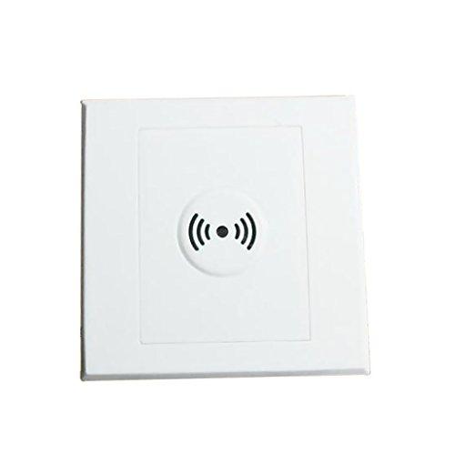 Sharplace Sprachschalter Schallsensor Stimme gesteuert Lampen Ventilator Schalter - Badezimmer-ventilator-lichtschalter