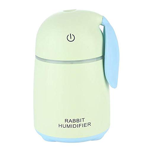 MMRLY Humidificador Creativo, 170 ml Ultra silencioso USB portátil humidificador de luz...