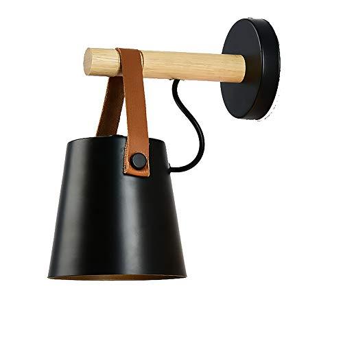 CMES Wandleuchte Innen/Außen Modern Mit Einstellbar Abstrahlwinkel DesignAußen Wandlampe Innen & Außen Schwarz ß -