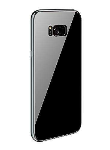Caler kompatibel mit Samsung Galaxy Note 8 Hülle + Hartglas 360 Grad Caso Exakte Slim Full Screen Protector, stoßfest, dünn Bumper Magnetic Case Handy Schutz