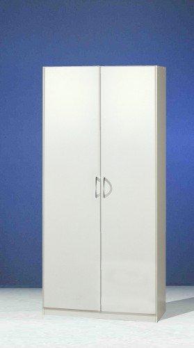 Wimex Kleiderschrank 020180 Sprint, Weiß, Breite 90 cm, Bend