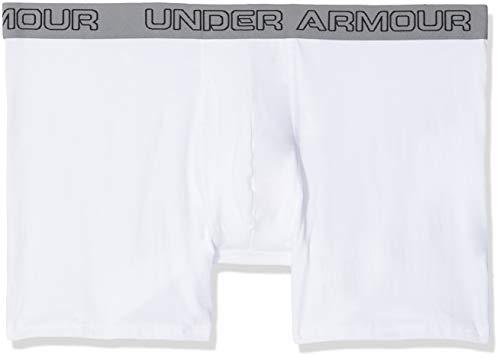Charged Cotton 6in 3Pk Unterhose, Weiß, XL ()