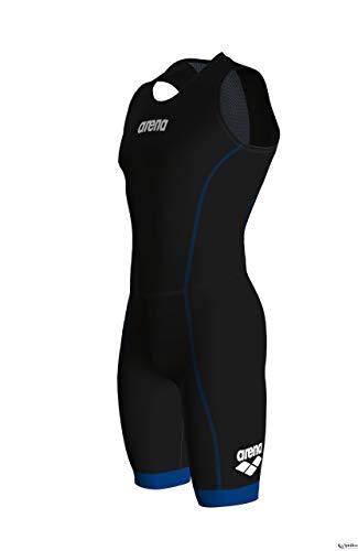 arena Herren Triathlon Anzug ST 2.0 mit Rückenreißverschluss, Black/Royal, XL