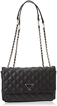 Guess Womens Handbag, Black - VG767921